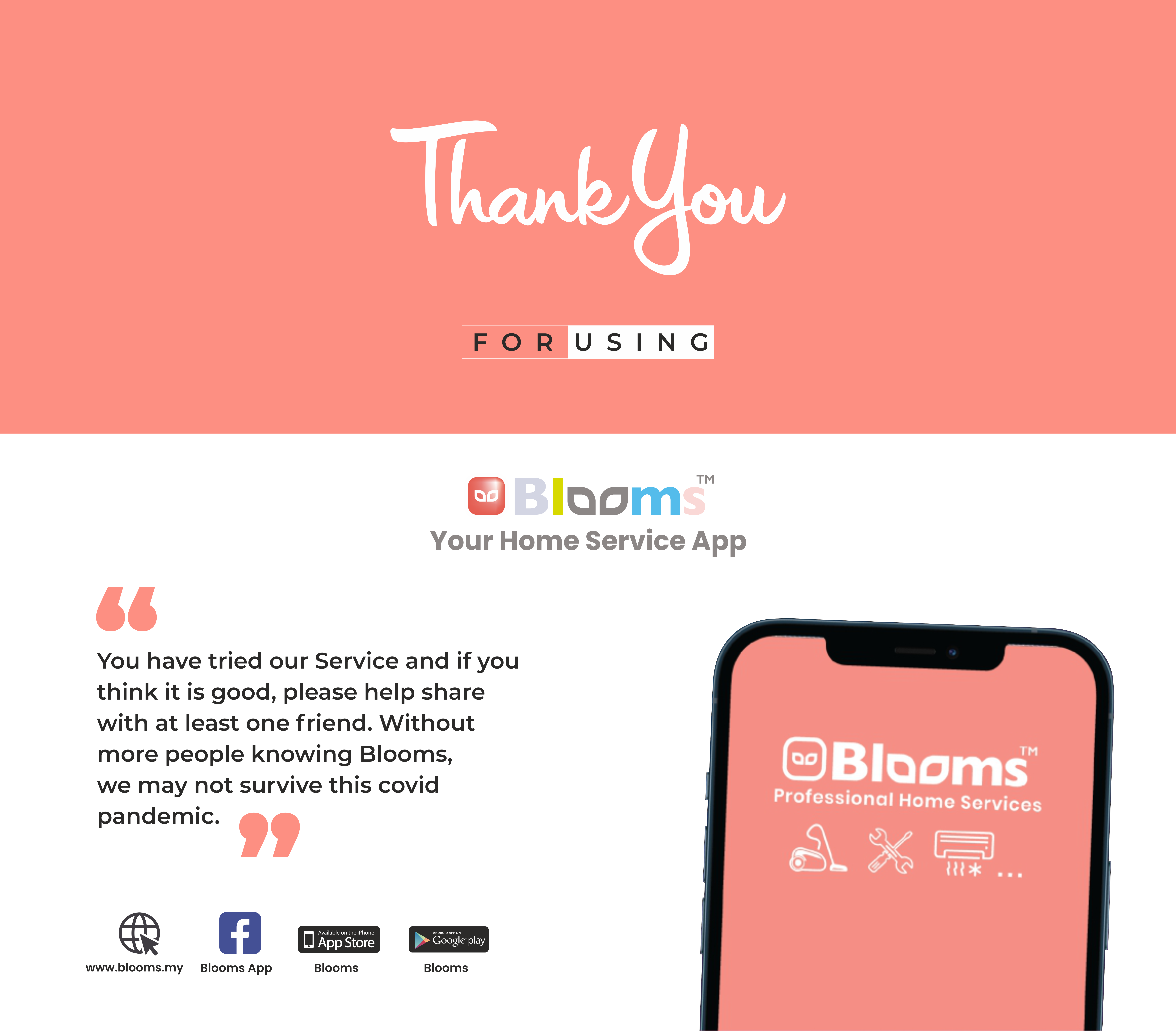Blooms Services Sharing 5